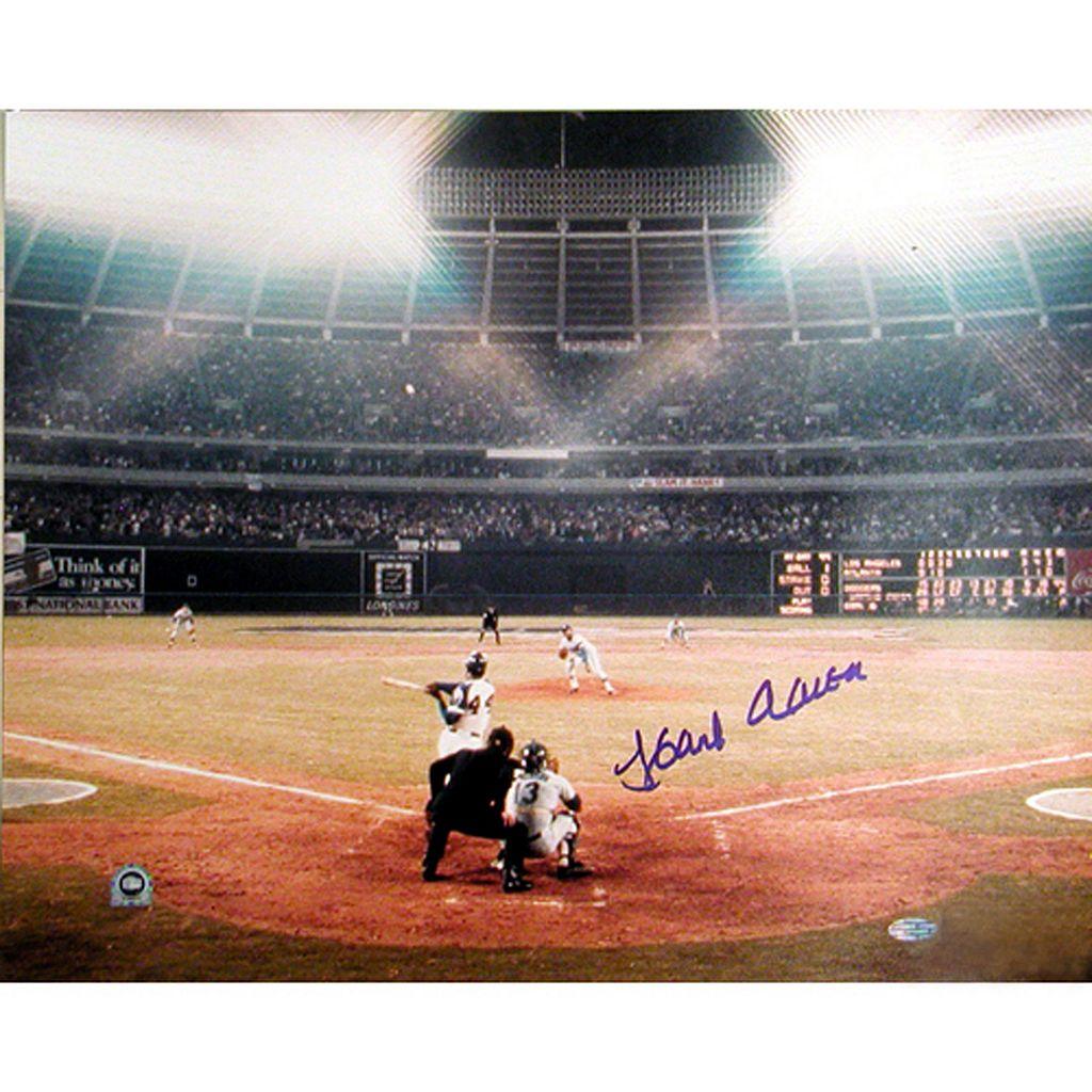 Steiner Sports Hank Aaron 715th Home Run 16'' x 20'' Signed Photo