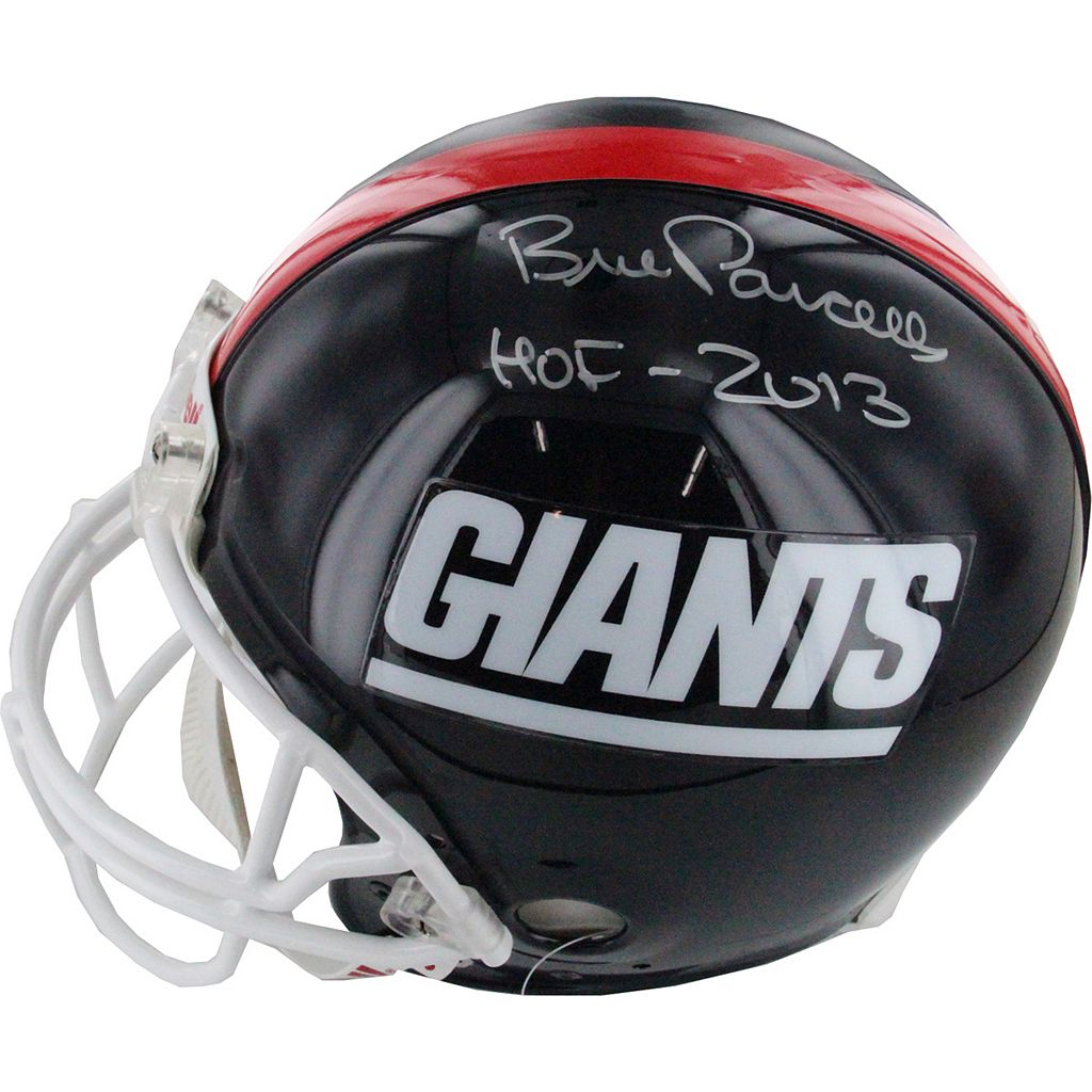 Steiner Sports Bill Parcells New York Giants Autographed Mini Helmet