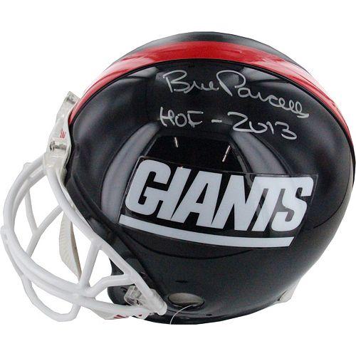 Steiner Sports Bill Parcells New York Giants Autographed Mini Helmet