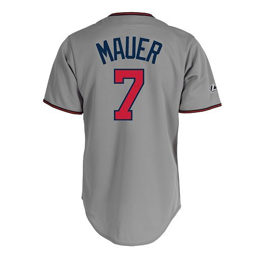 f7eedea284e Men's Majestic Minnesota Twins Joe Mauer Replica MLB Jersey