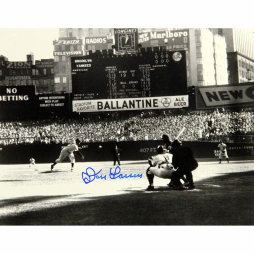 Steiner Sports Don Larsen First Pitch 8