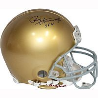 Steiner Sports Paul Hornung Notre Dame Fighting Irish Autographed Helmet