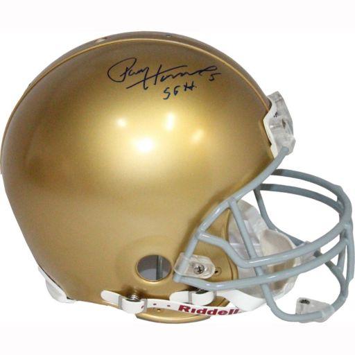 Steiner Sports Paul Hornung Notre Dame Fighting Irish Autographed Helmet