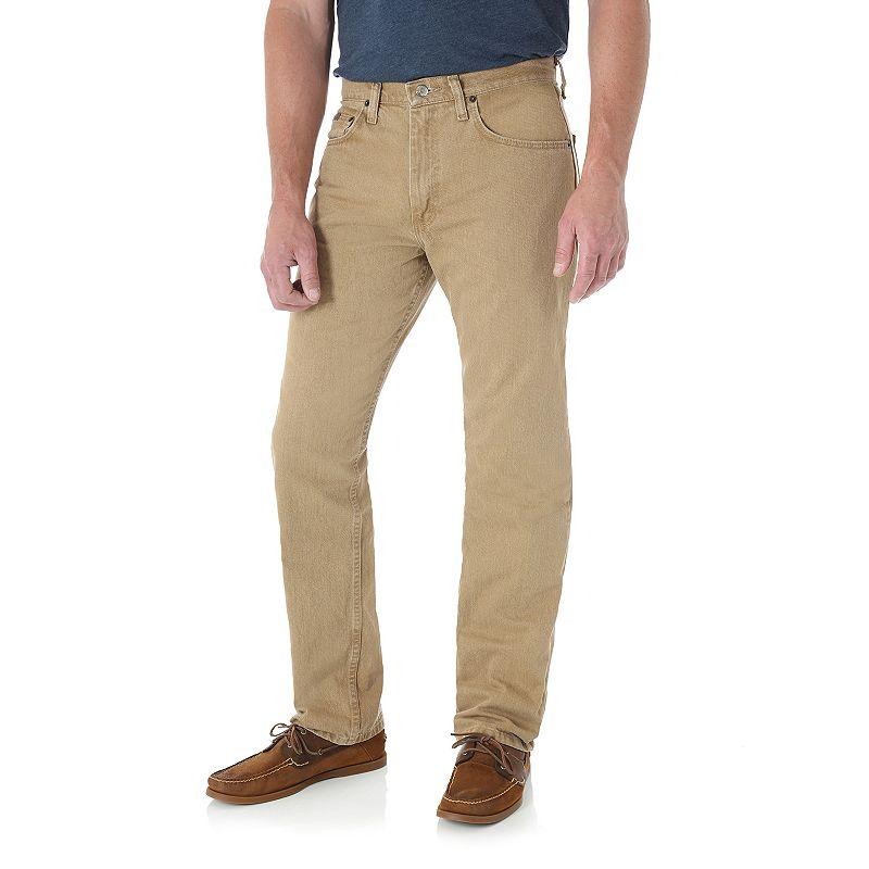 Men's Wrangler Regular-Fit Jeans, Size: 38X29, Beige/Khaki