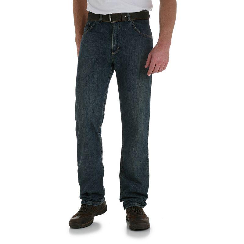Men's Wrangler Relaxed-Fit Jeans- Men, Size: 33X30, Blue