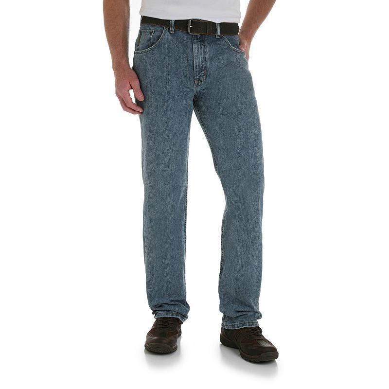 Men's Wrangler Relaxed-Fit Jeans- Men, Size: 40X30, Blue