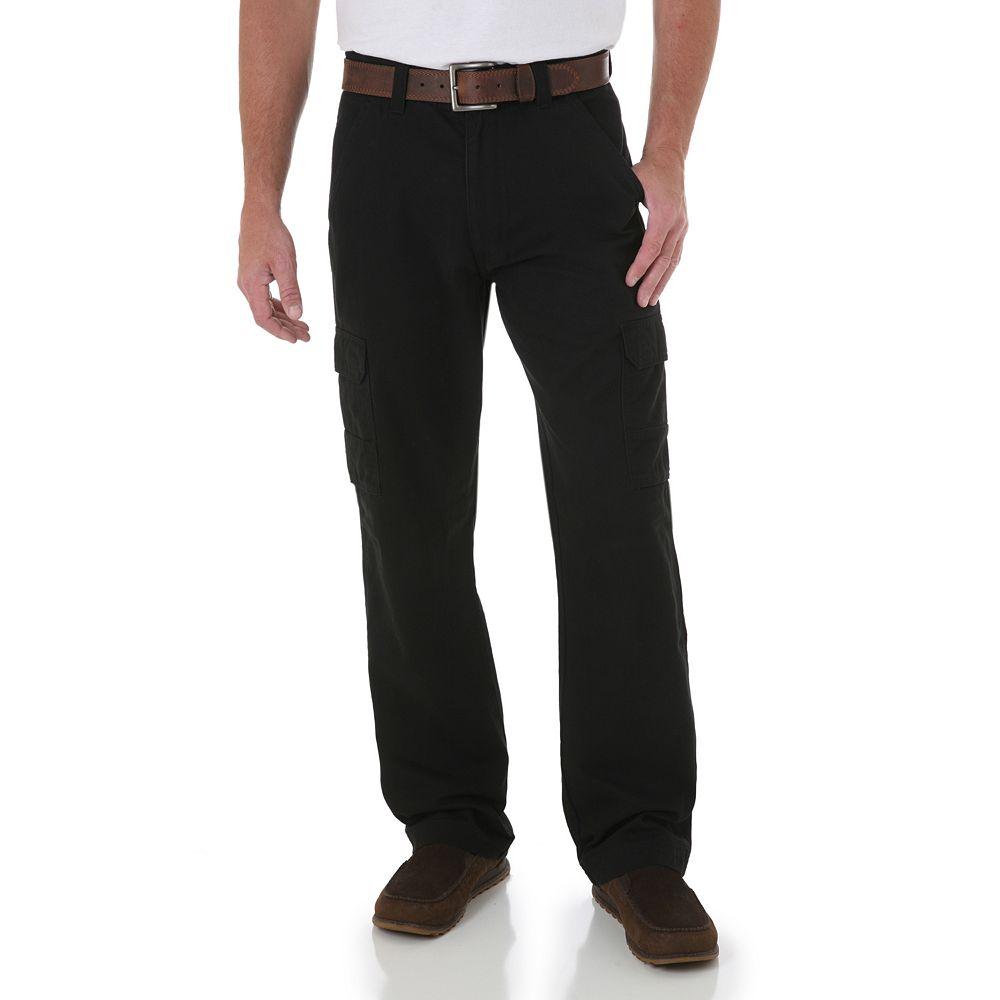 059422542590d7 Men's Wrangler Twill Cargo Pants