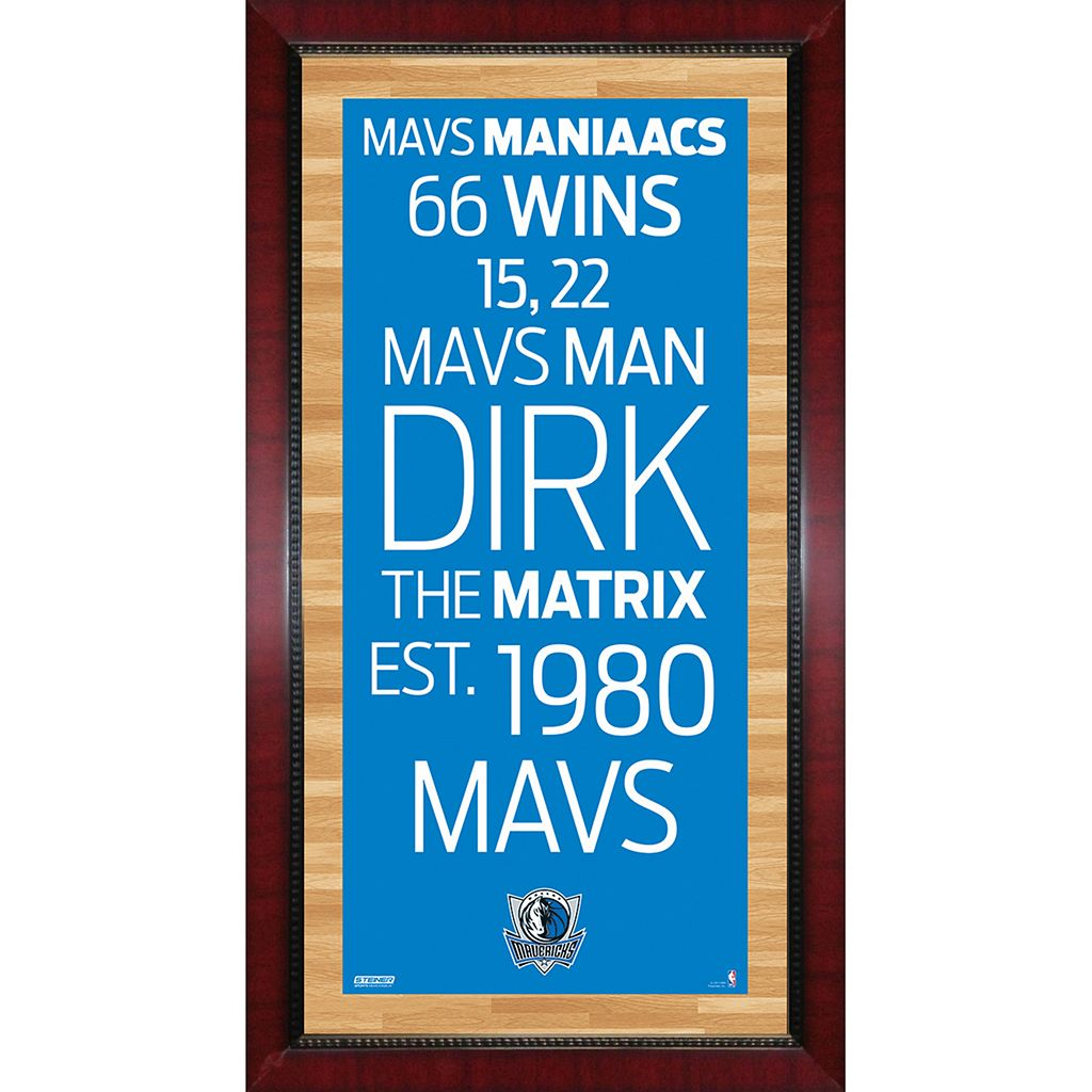 Steiner Sports Dallas Mavericks 32