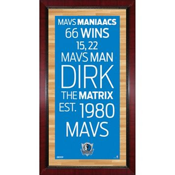 Steiner Sports Dallas Mavericks 32