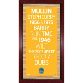 Steiner Sports Golden State Warriors 32'' x 16'' Vintage Subway Sign