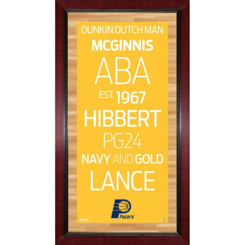 Steiner Sports Indiana Pacers 32'' x 16'' Vintage Subway Sign
