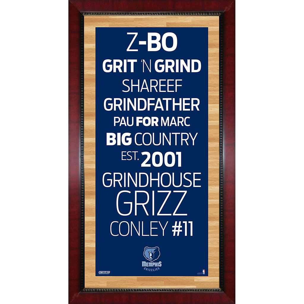 Steiner Sports Memphis Grizzlies 32