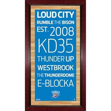 Steiner Sports Oklahoma City Thunder 32