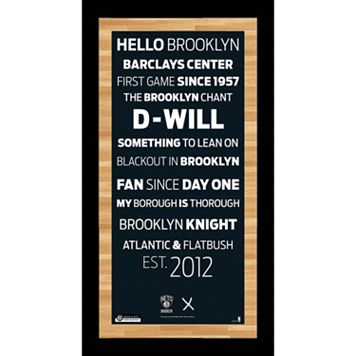 Steiner Sports Brooklyn Nets 19