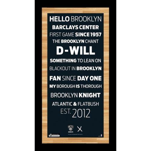 Steiner Sports Brooklyn Nets 19