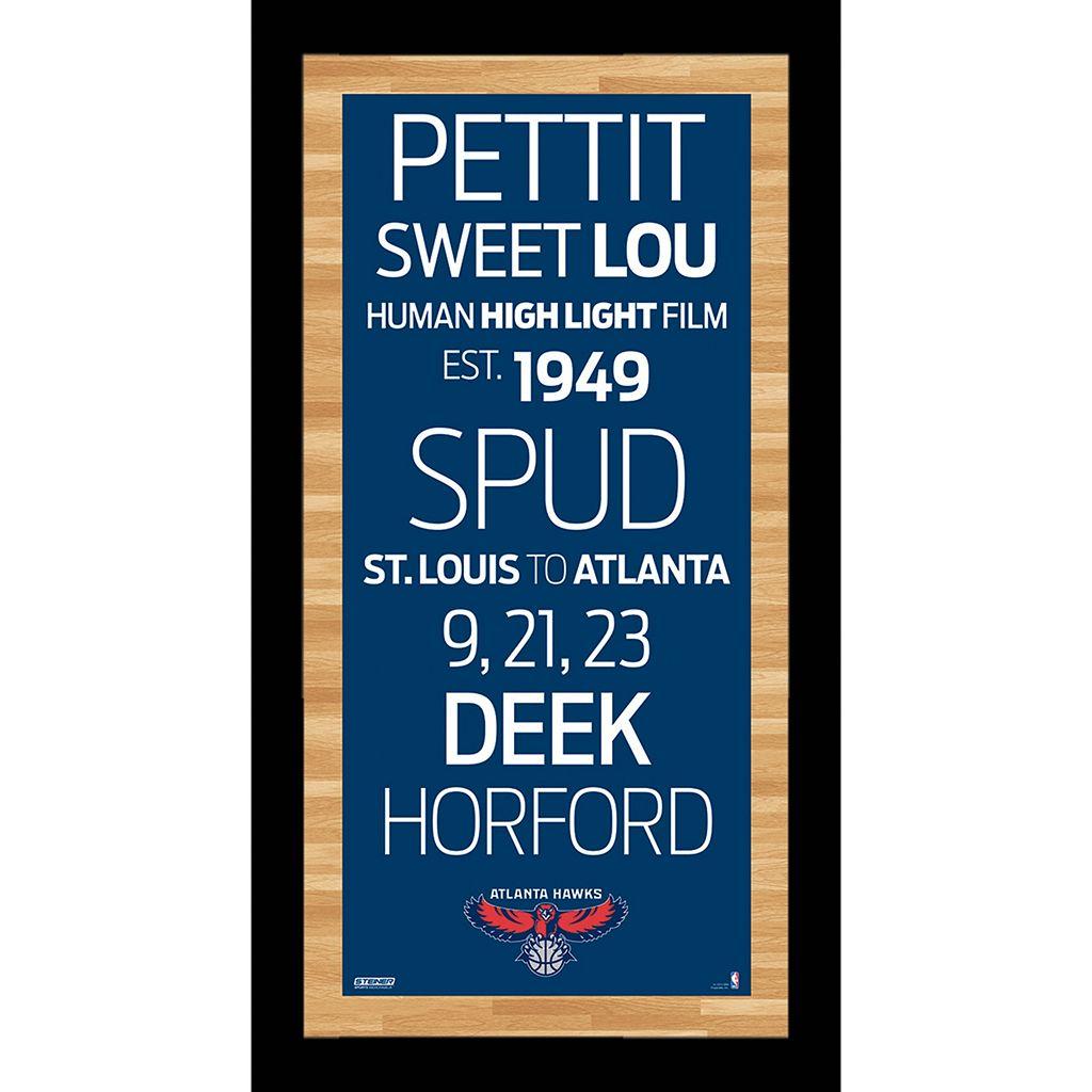 Steiner Sports Atlanta Hawks 19