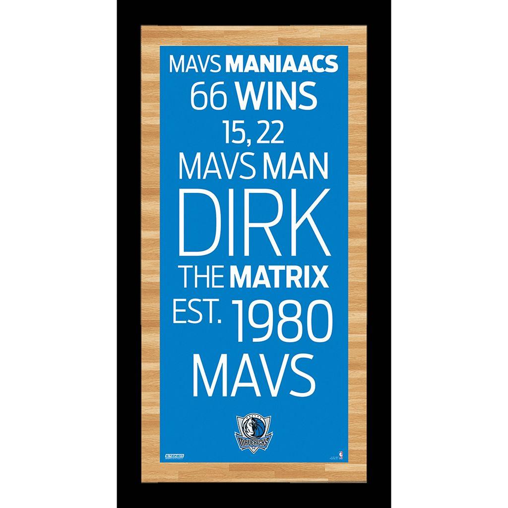 Steiner Sports Dallas Mavericks 19