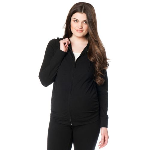 Oh Baby by Motherhood™ Ruched Hoodie - Maternity