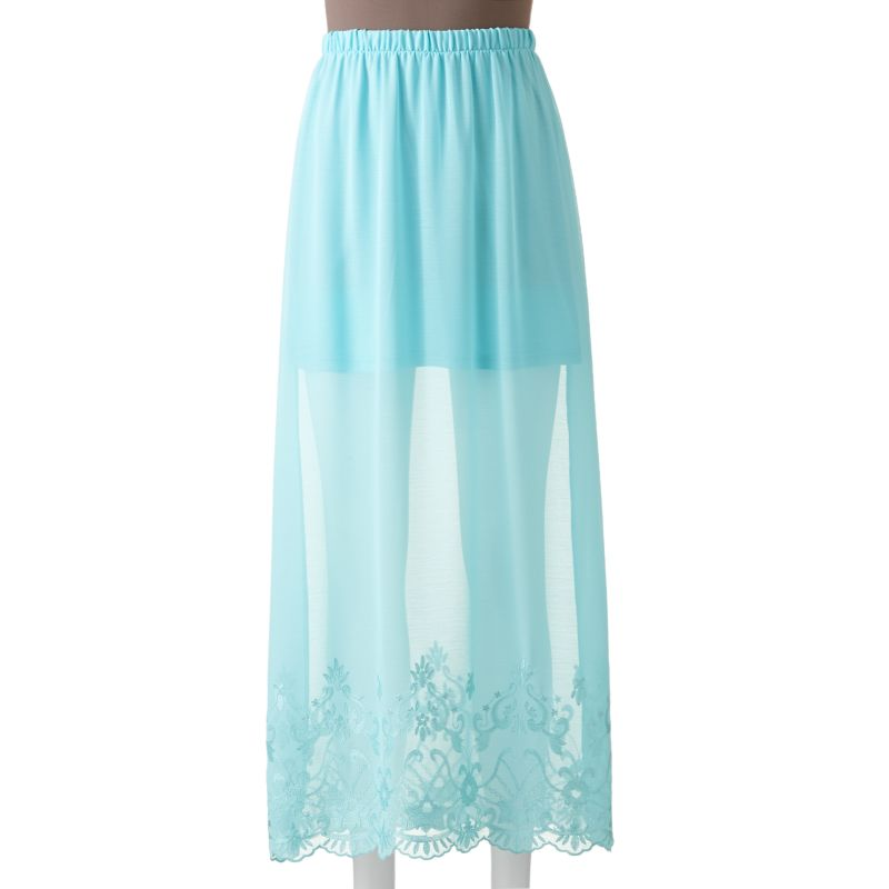 candie s embroidered maxi skirt juniors