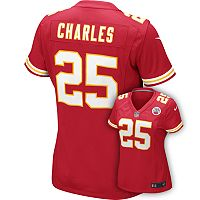 Women's Nike Kansas City Chiefs Jamaal Charles Jersey