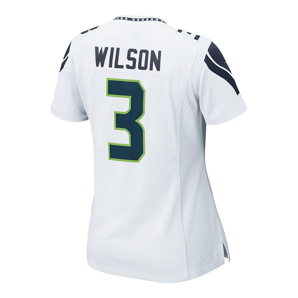Women's Nike Seattle Seahawks Russell Wilson Jersey