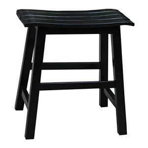 Hilale Furniture Fiddler Backless Saddle Seat Bar Stool