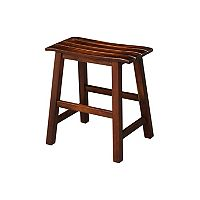 Slated 18-in. Counter Stool