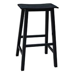 Slated Bar Stool