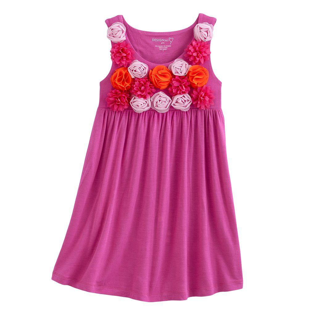 Design 365 Rosette Dress - Toddler