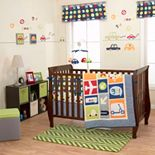 Belle Boys' World 3-pc. Crib Set