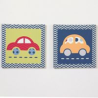 Belle Boys' World 2-pk. Wall Art