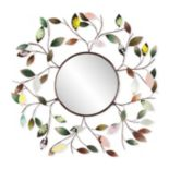 Fiona Leaf Wall Mirror