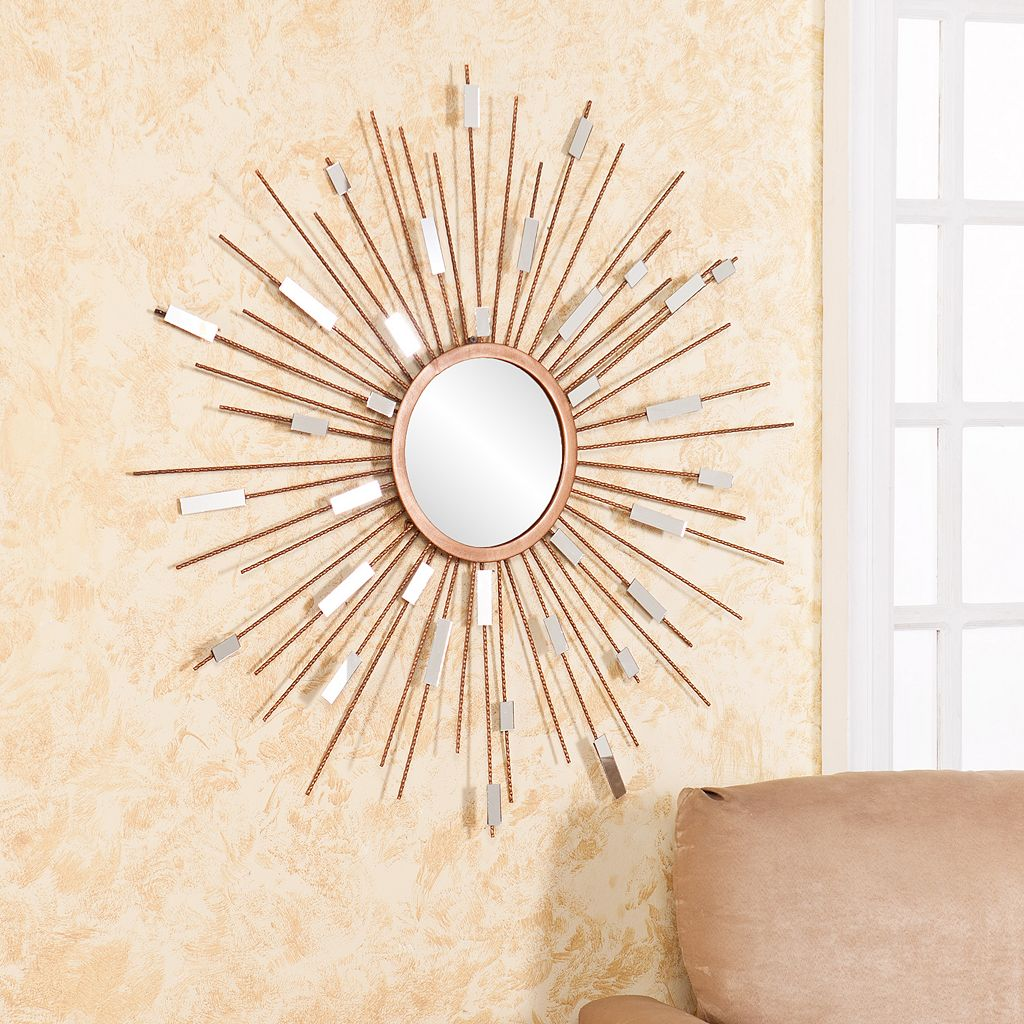 Aubrey Starburst Wall Mirror