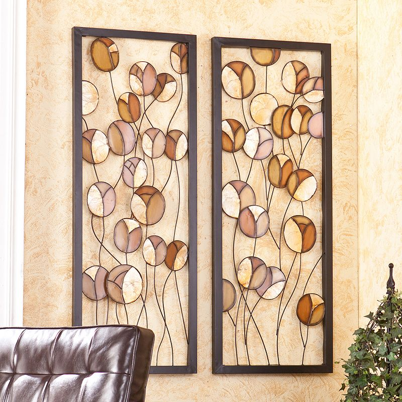 Rosita 2-pc. Metal Wall Decor Panel Set