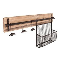 Murphy Entryway Wall Storage Rack