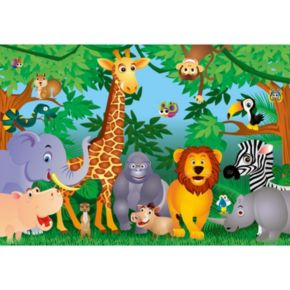 Ideal Decor In the Jungle Wall Decal