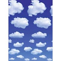 Ideal Decor White Clouds Wall Decal