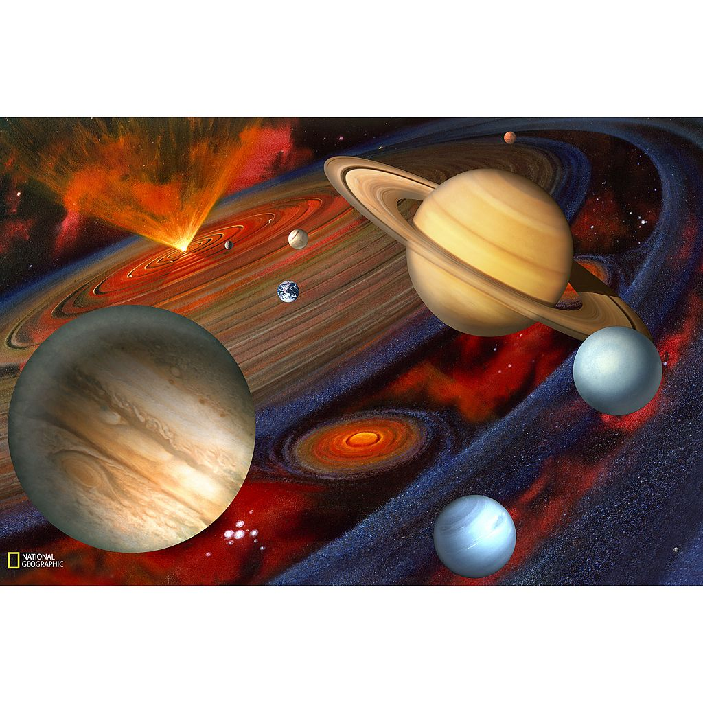 National Geographic Planets Wall Decal