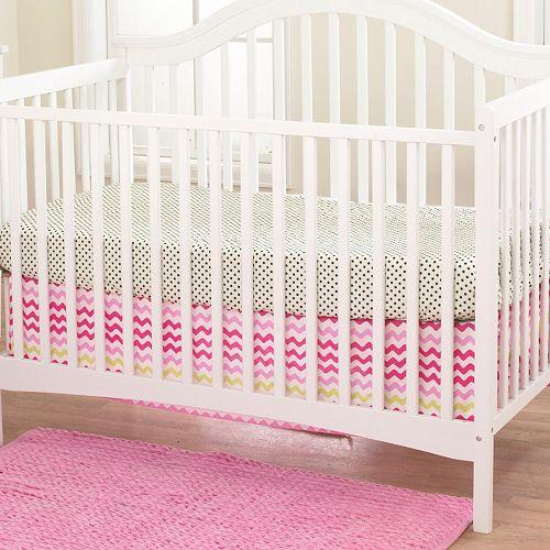 Belle Lil' Ladybug Crib Sheet