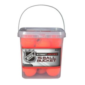 Franklin NHL Street Hockey High Density 15-Ball Bucket