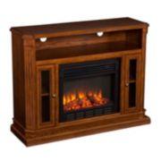 Devlin Media Console Electric Fireplace