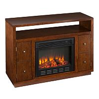 Jones Media Console Electric Fireplace