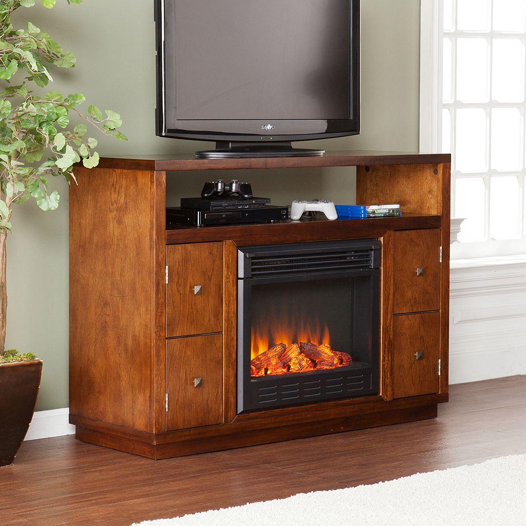 Jones Media Console Electric Fireplace