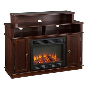 Miller Media Console Electric Fireplace