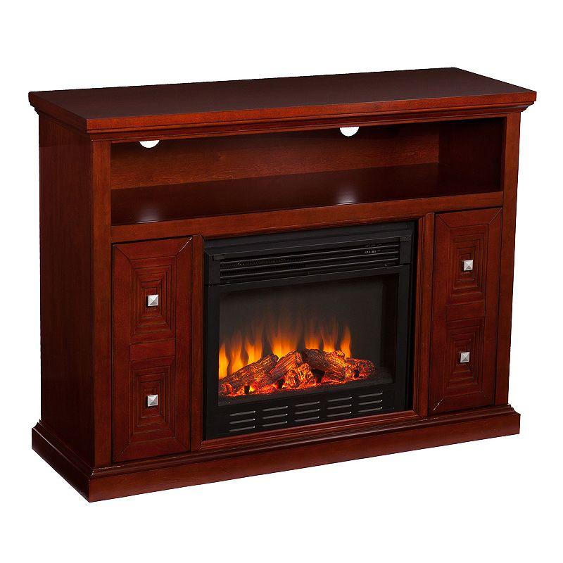 Harper Media Console Electric Fireplace