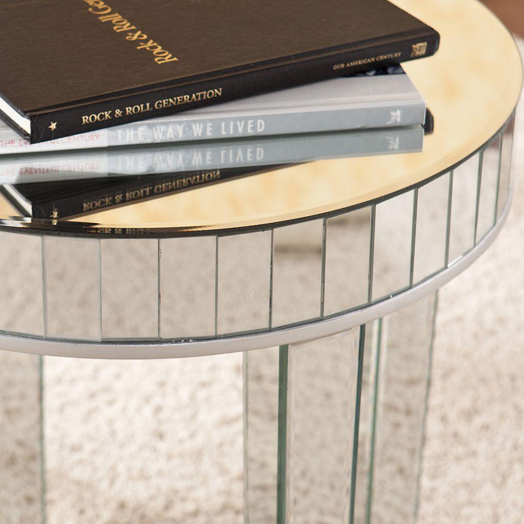 Southern Enterprises Julia 2-pc. Mirrored Nesting Table Set