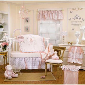Petit Tresor Fairytale Princess 4-pc. Crib Set