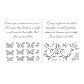 Petit Tresor Fairytale Princess Wall Decals