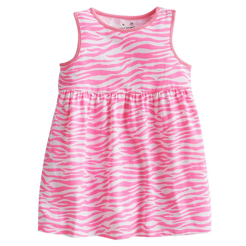 Jumping Beans Zebra Tank Dress - Baby
