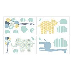 Petit Tresor Happy Animals Wall Decals